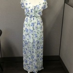 As you Wish Floral Maxi